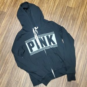 PINK Brand Lightweight Zip-up Hooded Jacket